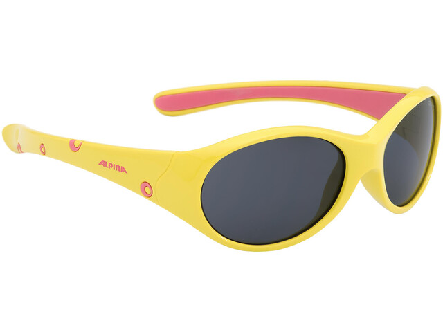 Alpina Flexxy Glasses Girls yellow-rose